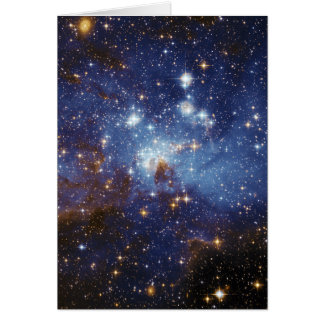 Milky Way Star Formation Stellar Nursery LH 95 Card