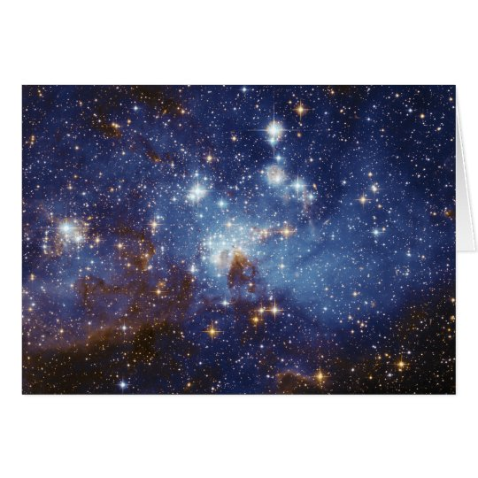 Milky Way Star Formation Stellar Nursery LH 95 Card