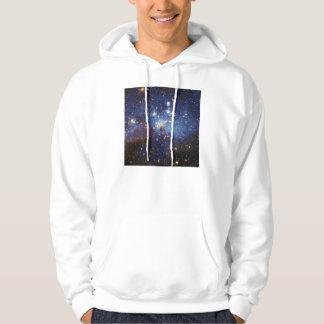Milky Way Star Formation Stellar Nursery LH 95 Hoodie
