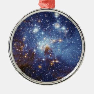 Milky Way Star Formation Stellar Nursery LH 95 Metal Ornament