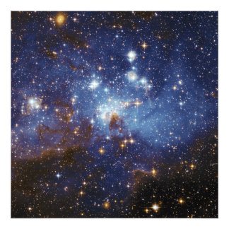 Milky Way Star Formation Stellar Nursery LH 95 Photographic Print