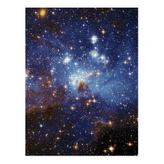 Milky Way Star Formation Stellar Nursery LH 95 Postcard
