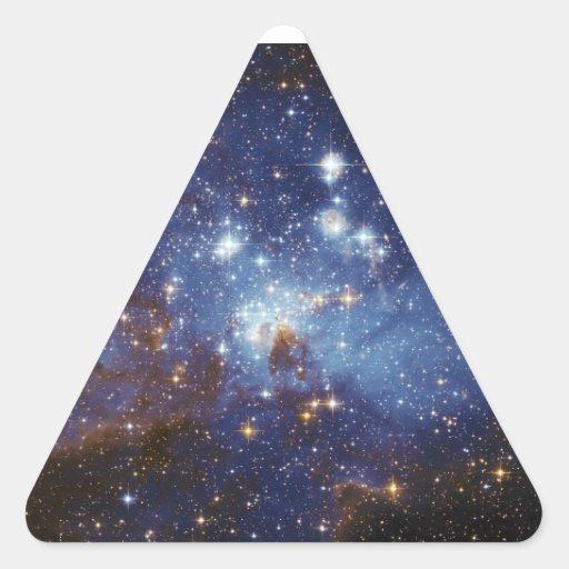 Milky Way Star Formation Stellar Nursery LH 95 Triangle Sticker