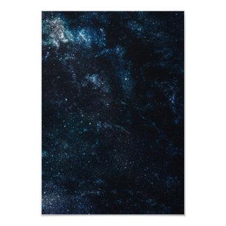 Milky Way Star Pattern Card