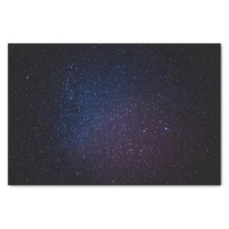 Milky Way stars night sky Tissue Paper