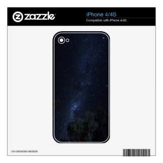 Milky Way Stars Skins For The iPhone 4