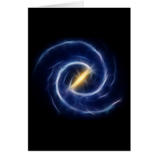 Milky Way Stars Spiral Galaxy Card