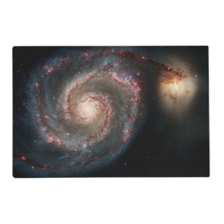 Milky Way Whirlpool Galaxy Placemat