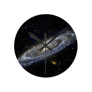 Milkyway Galaxy Art Round Clock