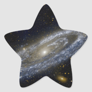 Milkyway Galaxy Art Star Sticker
