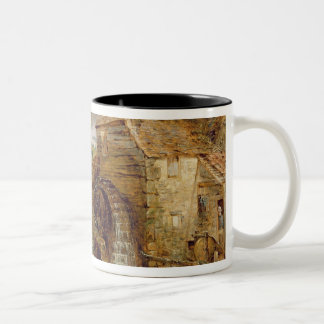 Mill at Gillingham, Dorset, 1825-26 (oil on canvas Two-Tone Coffee Mug