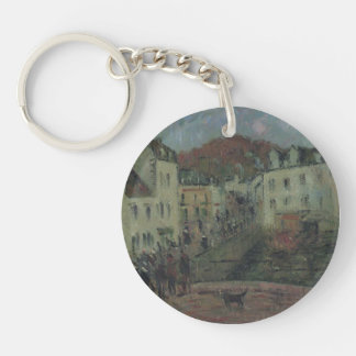Mill at Pont Aven by Gustave Loiseau Keychains
