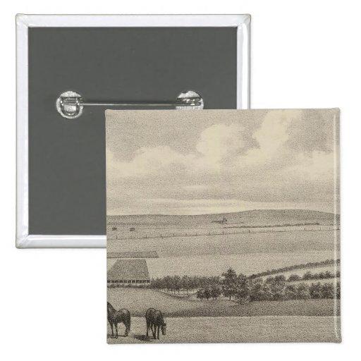 Mill Brae Ranch, Kansas Pinback Button