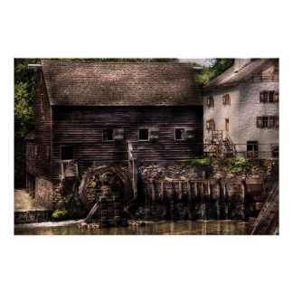 Mill - By the mill Print