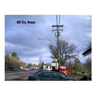 Mill City, Oregon Postcard