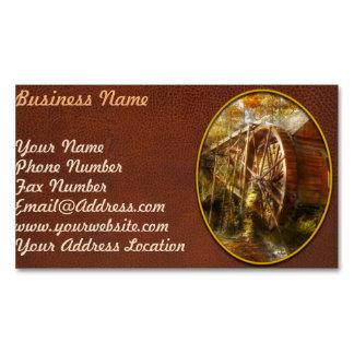 Mill - Cornelia, GA - Grandpa's grist mill 1936 Business Card Magnet