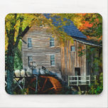 Mill in Autumn Mouse Pad