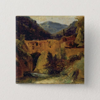 Mill in the valley near Amalfi, 1829 Button
