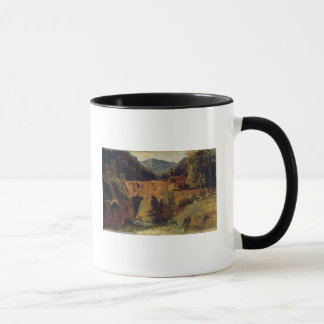 Mill in the valley near Amalfi, 1829 Mug