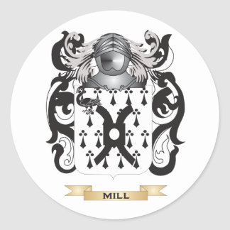 Mill-(Ireland) Coat of Arms (Family Crest) Sticker