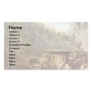 Mill Mountain By Spitzweg Carl Business Cards