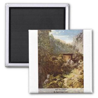 Mill Mountain By Spitzweg Carl Fridge Magnets
