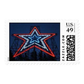 Mill Mountain Star Postage