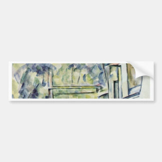 Mill On The River By Paul Cézanne (Best Quality) Car Bumper Sticker
