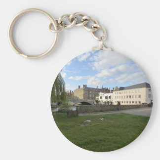 Mill Pond Beside the River Cam Key Chains