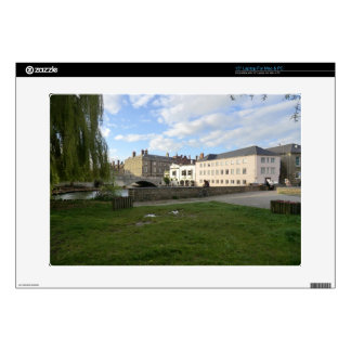 Mill Pond Beside the River Cam Skins For Laptops