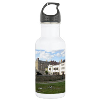 Mill Pond Beside the River Cam Water Bottle