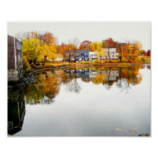 Mill Pond - South End Portsmouth, NH Poster