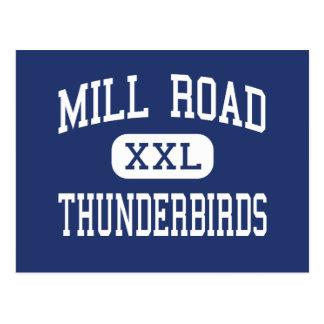 Mill Road Thunderbirds Middle Northfield Postcard
