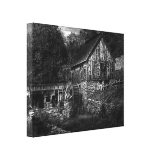 Mill - The Mill Stretched Canvas Print