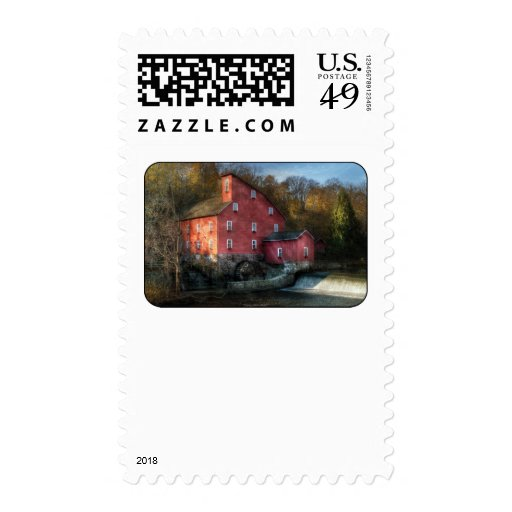 Mill - The old mill Postage
