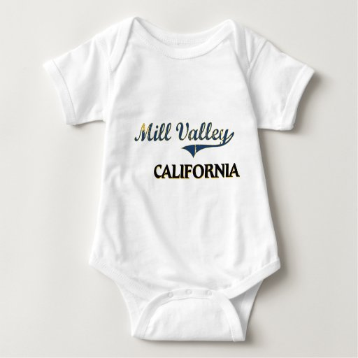 Mill Valley California City Classic T Shirts