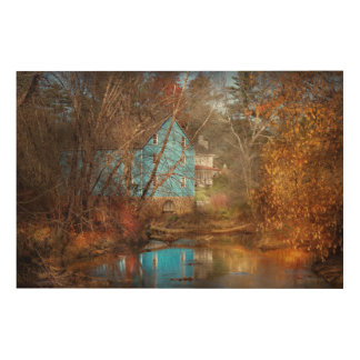 Mill - Walnford, NJ - Walnford Mill Wood Wall Decor