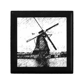 Mill/Windmill Jewelry Box
