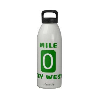 Milla 0 Key West Botellas De Agua Reutilizables