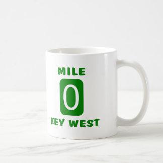 Milla 0 Key West Taza Clásica