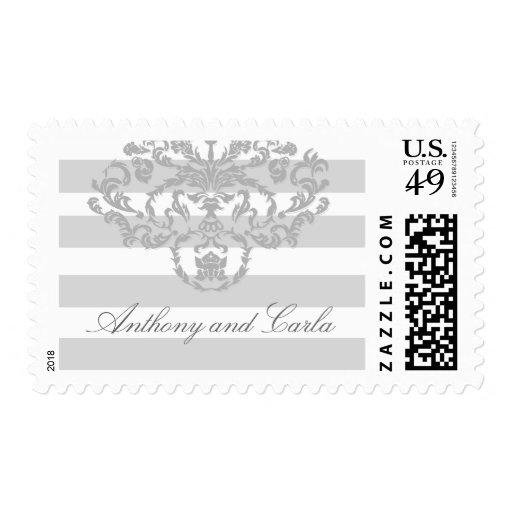 milla náutica gris 311-Classic Sello Postal