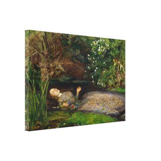 Millais Ophelia CC0496 Wrapped Canvas Canvas Prints
