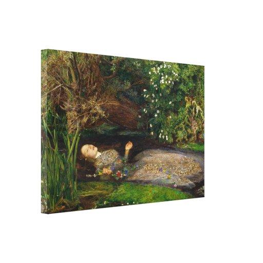 Millais Ophelia CC0496 Wrapped Canvas
