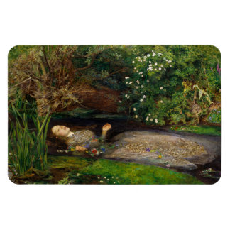 Millais Ophelia CC0541 Fridge Art Collection Magnet