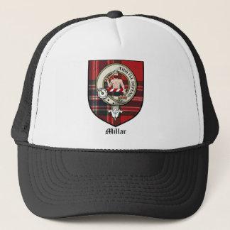 Millar Clan Crest Badge Tartan Trucker Hat