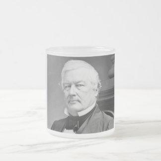 Millard Fillmore 13 Frosted Glass Coffee Mug