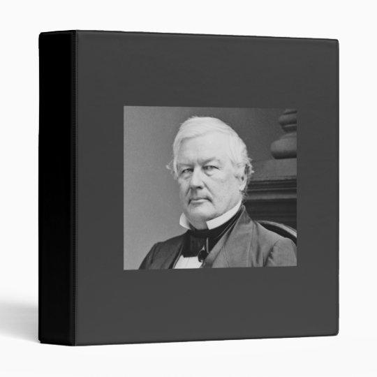 Millard Fillmore 13th President Binder