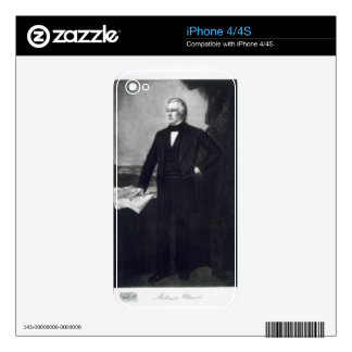 Millard Fillmore, 13th President of the United Sta Skins For iPhone 4S