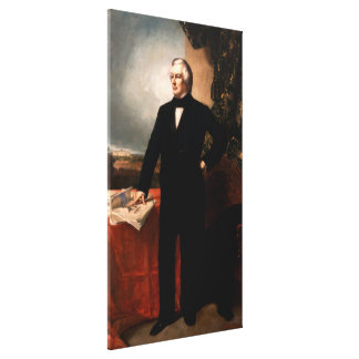 MILLARD FILLMORE by George Peter Alexander Healy Canvas Print