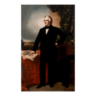 MILLARD FILLMORE by George Peter Alexander Healy Poster